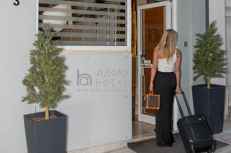 Adonis Hotel in Plaka